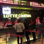 ベトナム・ハノイでも、映画予約はネットから出来ます!@Lotte Cinema