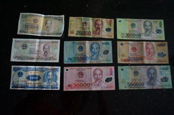 ベトナムの通貨、ベトナムドン(VND)の簡単、計算方法!