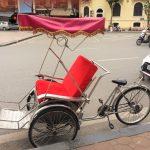 ハノイでアオザイをレンタルして、シクロ(人力自転車)に乗ろう!