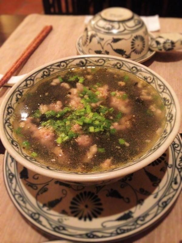 岩のりのスープ