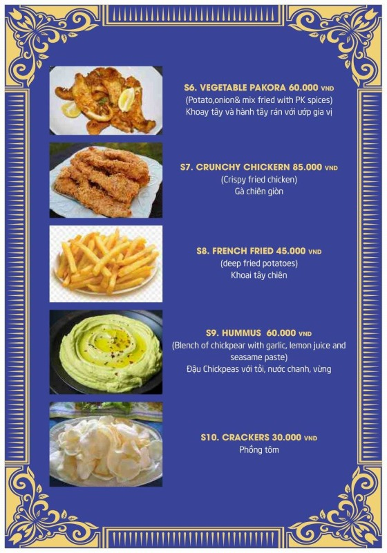 P.K menu1