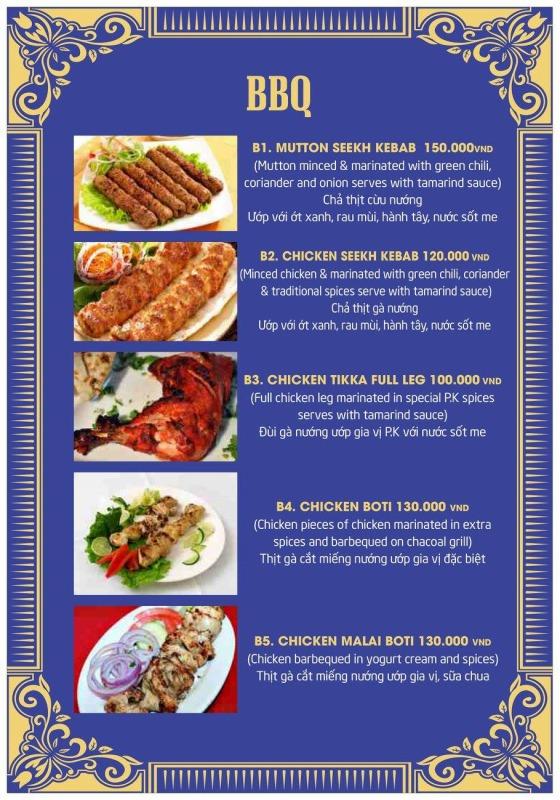 P.K menu2