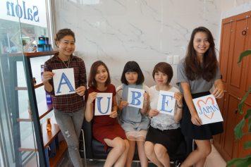 祝『Beauty Salon AUBE JAPAN』1周年!素敵なコラボグッズプレゼント