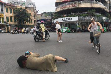 カンボジアから来た美容師さんの撮影でカメラマンをしました@ハノイ