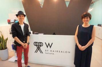 ハノイの『Hairsalon W by te to te.』は、日本品質!ベトナム価格!
