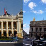 フランス・パリとベトナム・ハノイのオペラハウスを比べてみました!