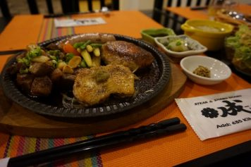 キンマの日本食レストラン『ステーキ&ハンバーグ 成(Nari)』の新メニュー