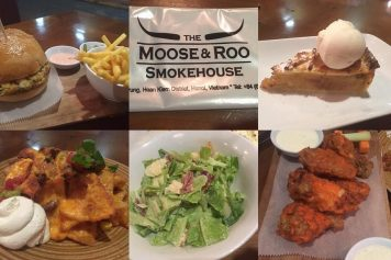 『The Moose & Roo Smokehouse』ハノイ在住者に人気のアメリカンフード店